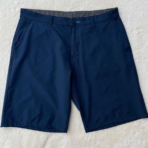 Burnside Men's Hybrid Shorts Navy Blue sz 36